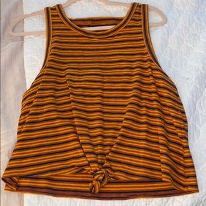 Madewell Knotted Tank Top
